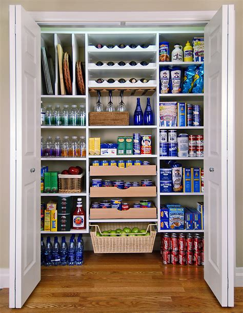 Small Pantry Closet Ideas by Custom Closets