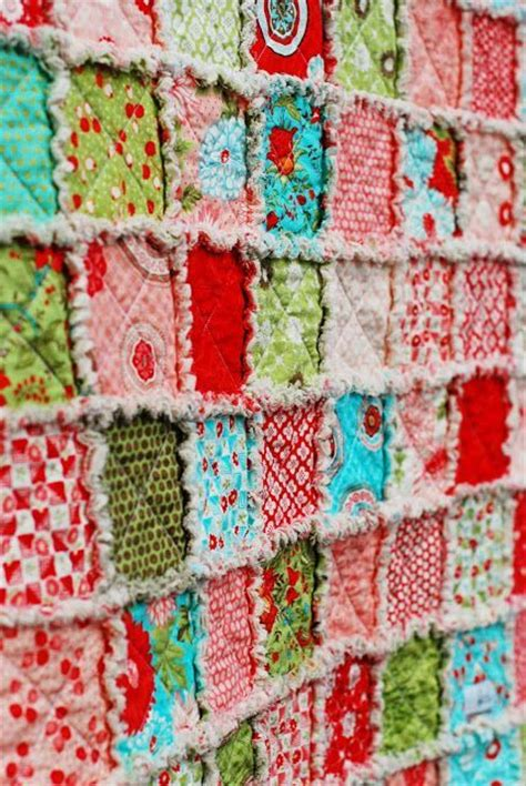 Rag Quilt Materials Needed by Best 25 Rag Quilt Ideas On Rag