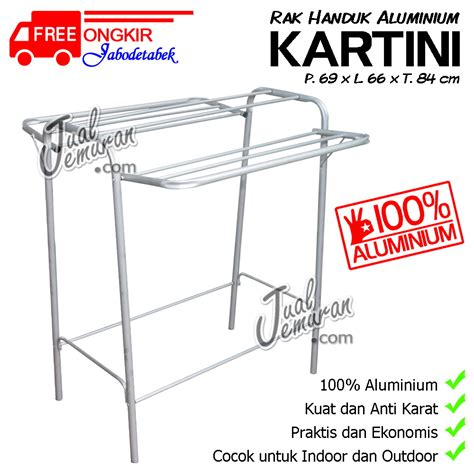 Jemuran Handuk Union Rak Handuk Alumunium jemuran baju rak handuk rak sepatu tangga aluminium murah berkualitas kaskus