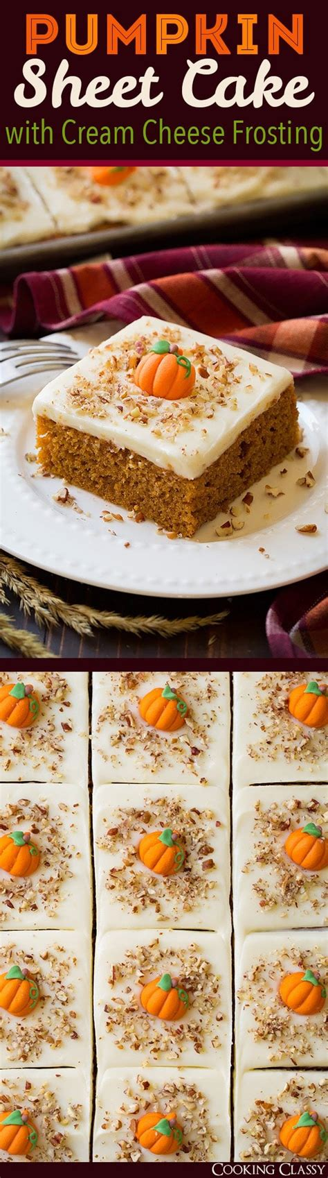 cooking light sheet cake pumpkin sheet cake with cheese frosting cooking