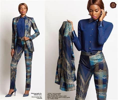 ankara suit styles how to rock the ankara pantsuit