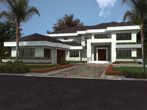 contemporary florida style home plans plano de casa moderna grande