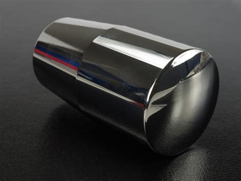 Steel Shift Knob by Dewla Dezign Polished Stainless Steel Weighted Shift Knob