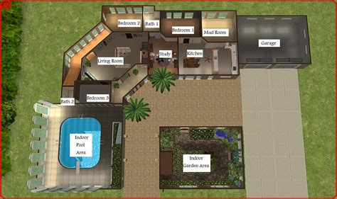 Two Car Garage Plans by Mod The Sims Dreamy Mansion