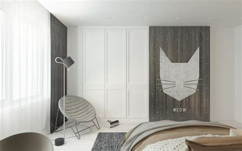 cat themed bedroom a pair of childrens bedrooms with sophisticated themes
