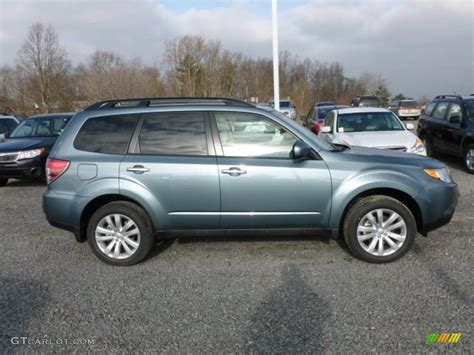 Sage Green Metallic 2012 Subaru Forester 2 5 X Limited
