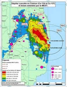 fukushima fallout usa map radioactive contamination deposition or fallout maps