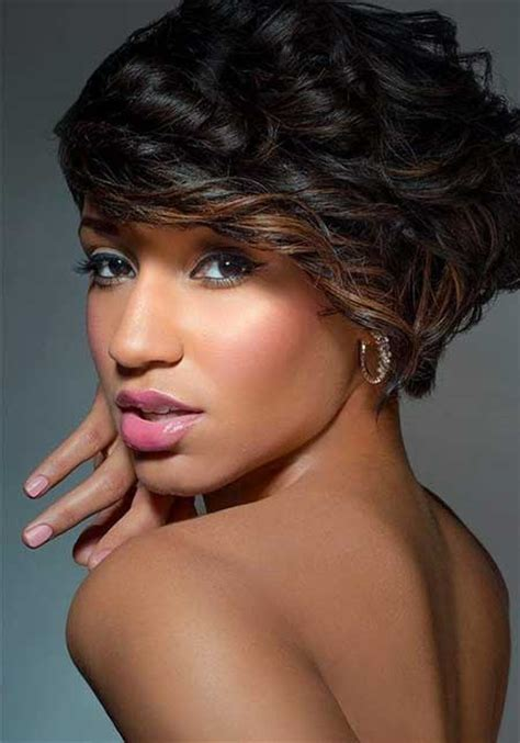 auburn highlights fir black women short hairdos 25 new short hairstyles for black women short hairstyles