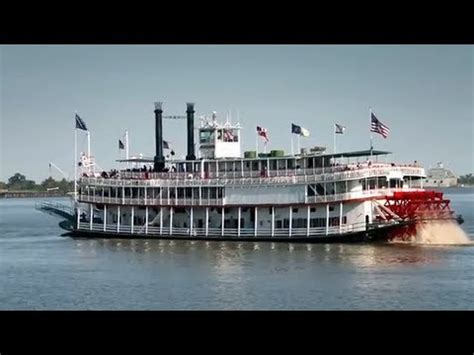 mississippi river boat cruise to new orleans natchez river boat new orleans lousiana youtube