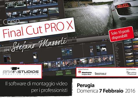 final cut pro compound clip corso final cut pro x montaggio video
