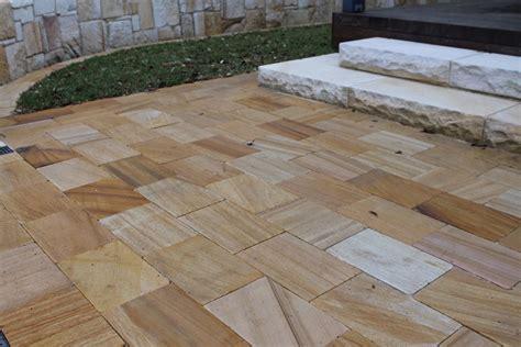Patio Sandstone by Teakwood Sandstone Pavers
