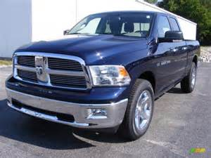 Dodge Ram True Blue Pearlcoat True Blue Pearl 2012 Dodge Ram 1500 Big Horn Cab 4x4