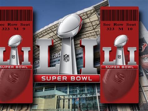 superbowl tickets how difficult is it to get a super bowl 51 ticket khou com