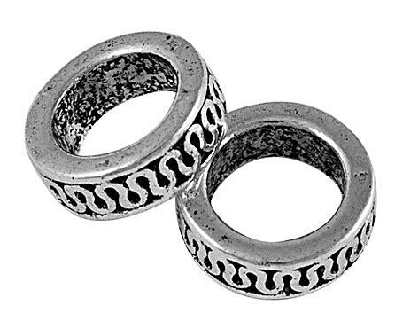 Waschbecken Kupfer 1010 by 10 Tibet Silber Anh 228 Nger Binderinge Verbinder Geschlossen