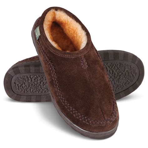 the house shoes the australian shearling slippers hammacher schlemmer
