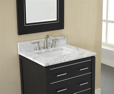 Bathrooms With Black Vanities Manhattan 24 Inch Black Contemporary Bathroom Vanity