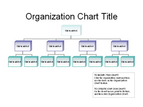 Organization charts for theiruse smartart tools to create organization