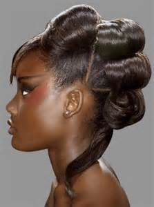 black pecision hair styles prom hairstyles for black girls easy to make