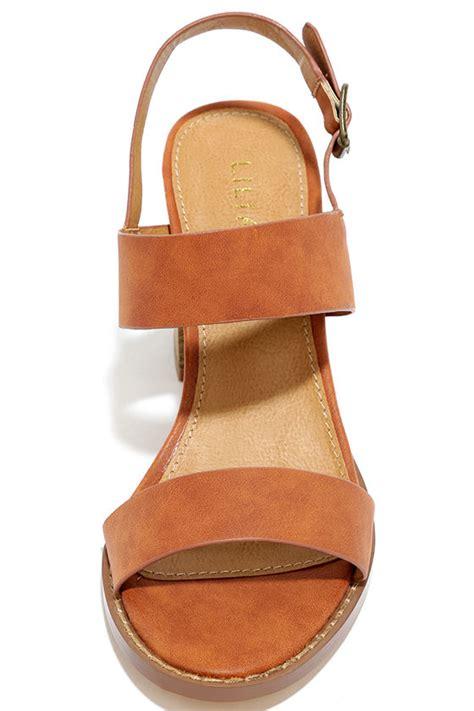 cognac high heel sandals cognac sandals high heel sandals vegan leather sandals