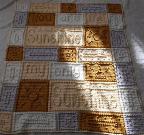 crochet pattern you are my sunshine you are my sunshine crochet blanket pattern