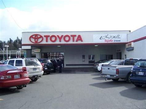 Toyota Dealership Spokane Larry H Miller Downtown Toyota Spokane Spokane Wa