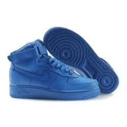 all color air ones nike air ones mens hi tops all royal blue polyvore