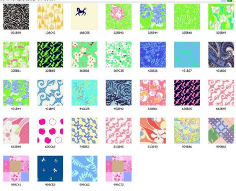 flower pattern names 77 best images about lilly pulitzer print names on