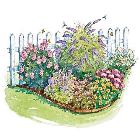 Butterfly Garden Layout Bird And Butterfly Garden Plan