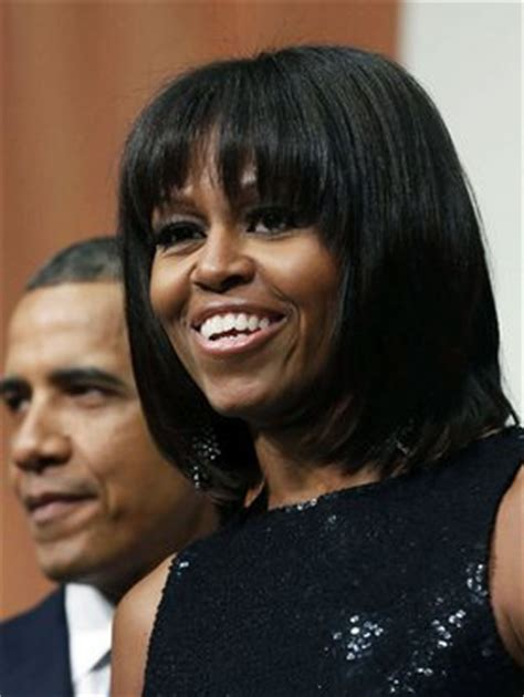 does michelle obama wear hair pieces does michelle obama have hair extensions hairstyle gallery