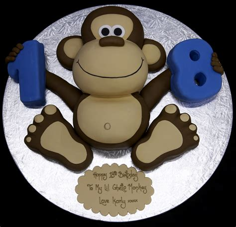 1st birthday monkey cake ideas 1450 monkey cakes decoratio
