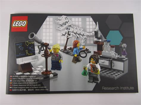 Lego Research Institute 21110 review lego ideas 21110 research institute