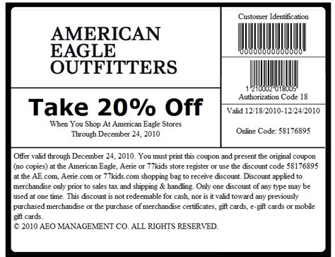 American Eagle Online Gift Card - american eagle coupons online 2017 2018 best cars reviews