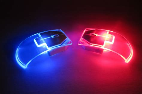 light up wireless mouse silent ultrathin clear optical wireless led mouse mojo llc