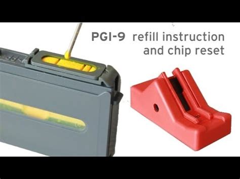chip resetter canon funktioniert nicht refill kit canon pgi 9 and chip resetter pixma pro 9500