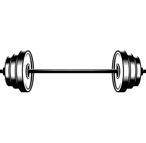 Barbell Fitness barbell 1 weightlifting bodybuilding fitness workout