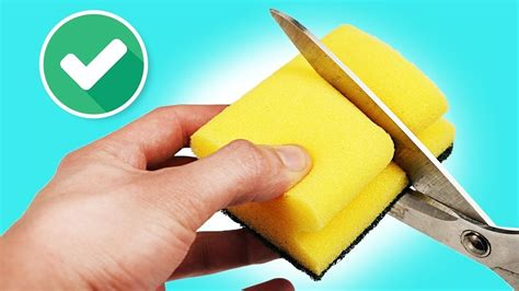 8 Secrets You Can by 8 Tricks You Can Do With Sponges Doovi