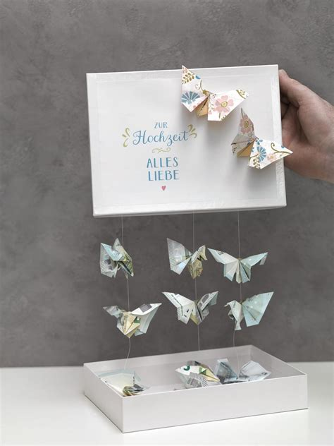 Hochzeit Geldgeschenk by Schmetterlinge Aus Geld Falten Hochzeit Planen Mit