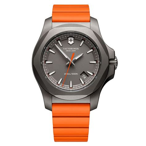 Original Victorinox I N O X 241758 swiss army 241758 inox titanium orange