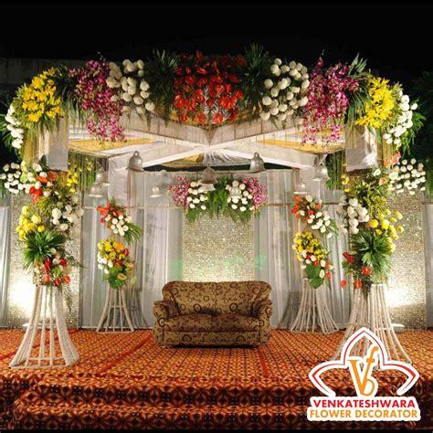 Wedding Flower Decorators by Best Wedding Decorators In Chennai Venkateswara Flower