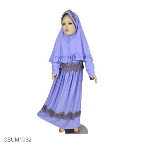 set gamis anak renda aqila baju muslim anak murah