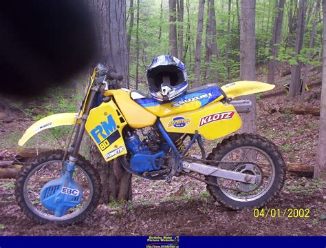 1987 suzuki rm 80 motorcycle