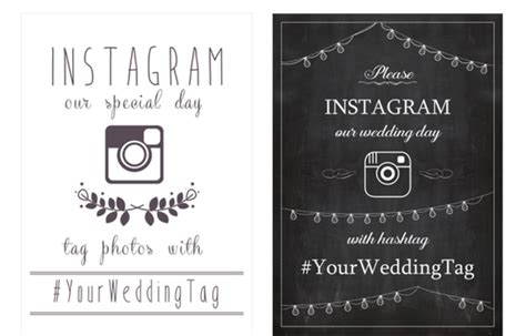Wedpics Card Template by 17 Ways To Collect Your Guests Wedding Photos