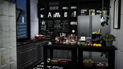 Brandcode 3 Sim By Celing Shop sims 4 cc s the best kitchen clutter by viikiitas stuff