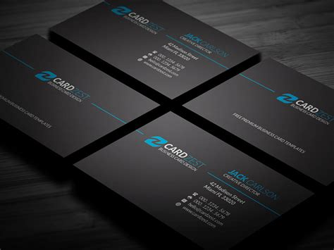 Minimalist Business Card Layout