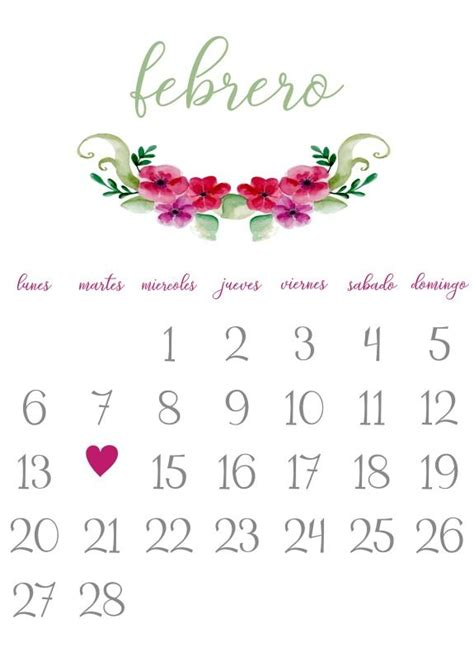 Calendario 2017 Mes Febrero 25 Unique Calendario Febrero 2017 Ideas On