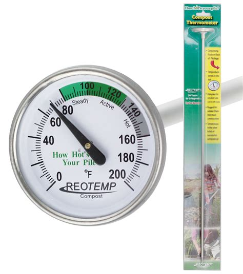 Kompos Termometer reotemp backyard compost thermometer reotemp instruments