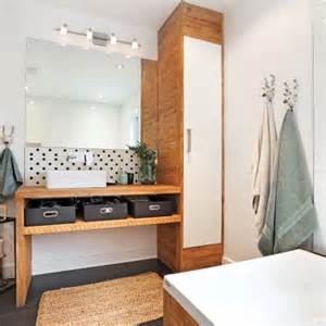 Bien Je Decore Salle De Bain #2: salle-de-bain-rustique-scandinave.jpeg