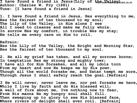 Beautiful Church Hymns Lyrics #4: I-have-found-a-friend-in-jesus-hes-everything-to-me.png