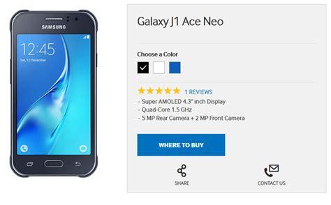 Samsung J1 Neo Samsung Galaxy J1 Ace Neo Annunciato Nuovo Device Android