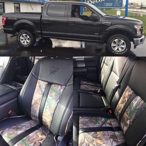 ford f150 xlt leather seats 2015 2016 ford f 150 crew xlt black katzkin kamo
